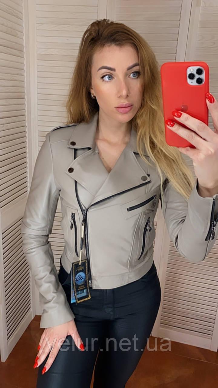 Куртка женская натуральная, кожа телячья, размеры С,М,Л,ХЛ, много цветов