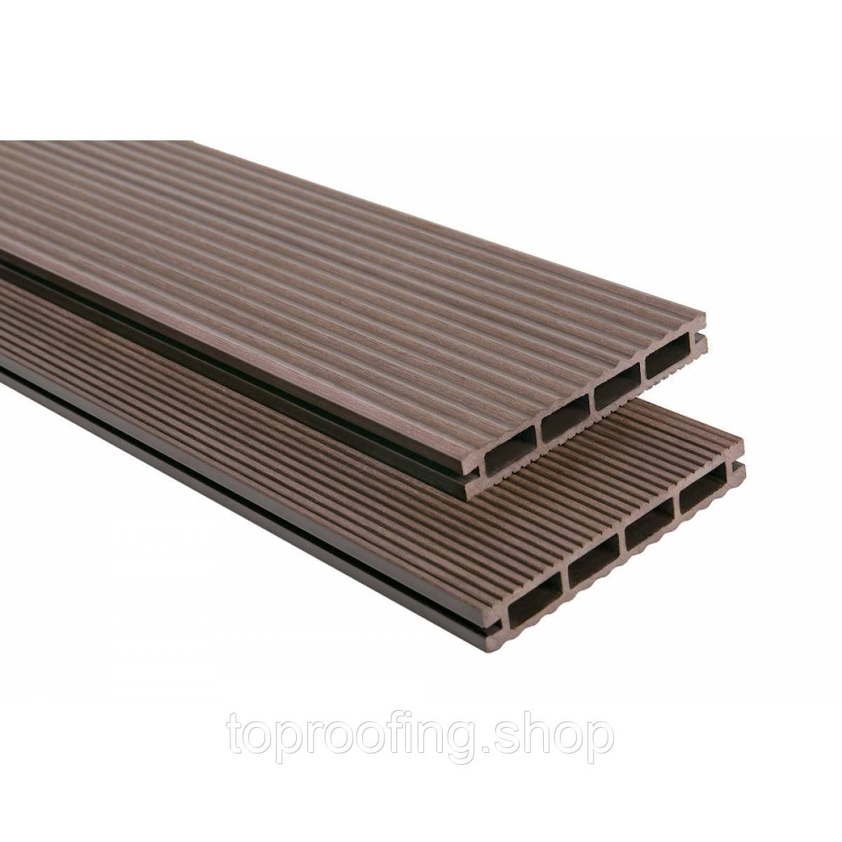 """Террасная доска """"Polymer Wood Lite"""" Венге"""
