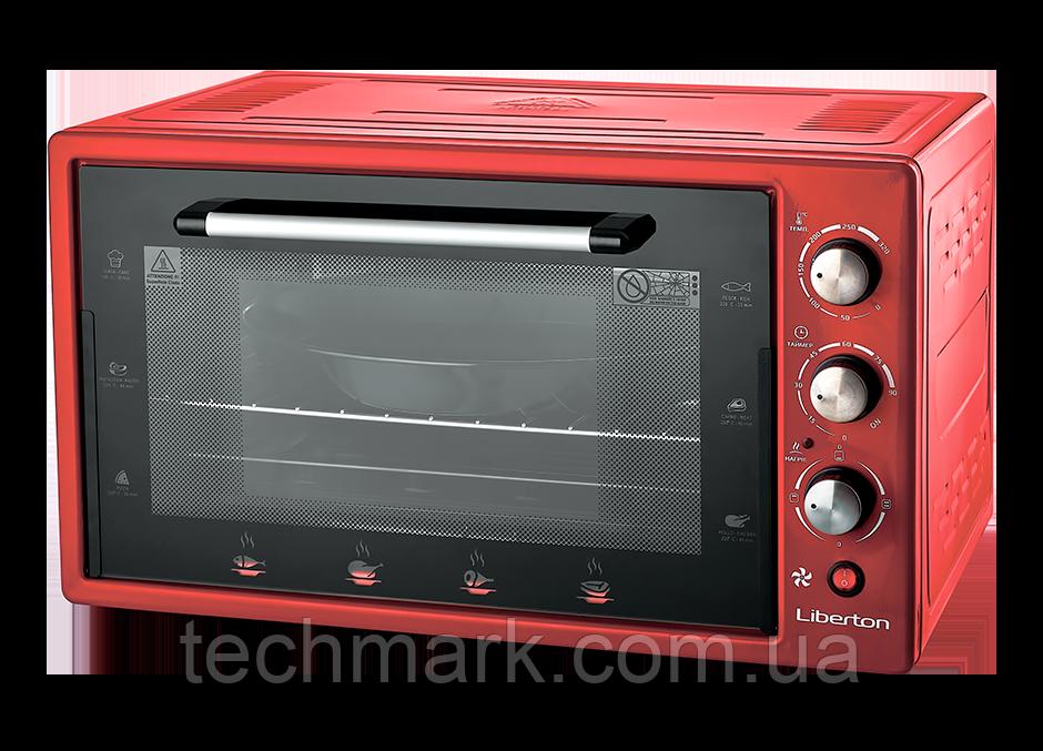 Електродуховка Електрична піч LIBERTON LEO-482 Red (48 л.)