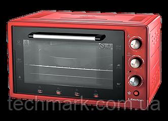 Электродуховка Электрическая печь LIBERTON LEO-482 Red (48 л.)