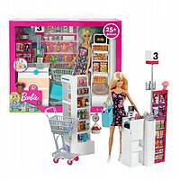 Игровой набор Барби в супермаркете Barbie Supermarket Mattel FRP01