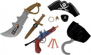 Ігрові набори зброї, набори пірата, набори поліцейського
