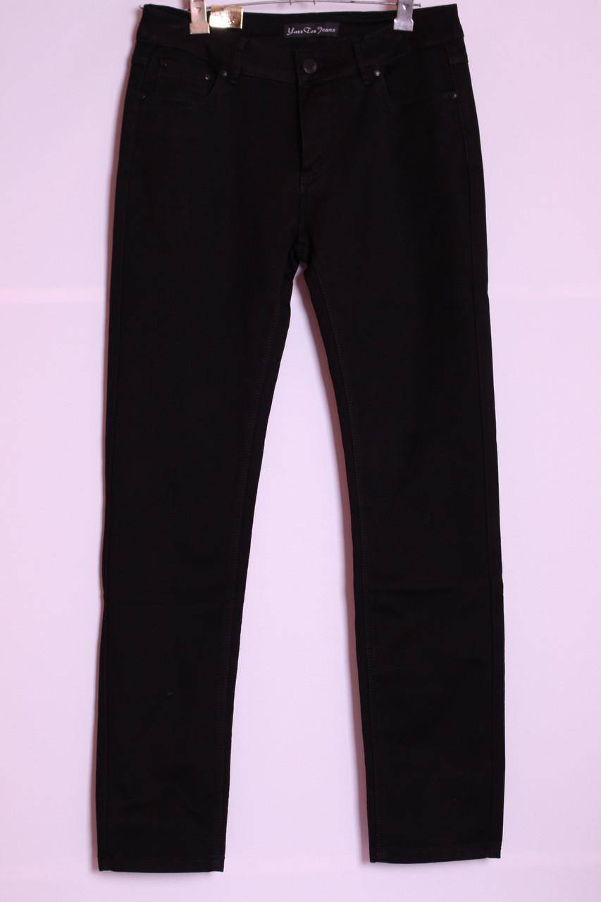 8c192005f72 Женские черные джинсы больших размеров утепленные на флисе с высокой  посадкой (30-44рр.
