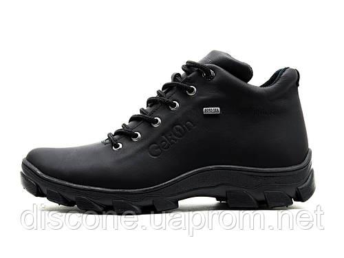 Ботинки мужские зимние Gekon Grip 20BVM черные кожаные