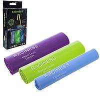Резиновая лента эспандер для фитнеса йоги и пилатеса 150 см 3 штуки