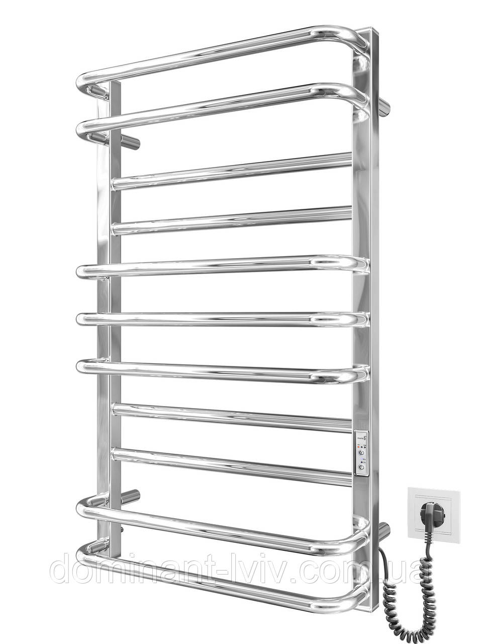 Електрична рушникосушка Mario Премиум Люкс -I 800x500/170 TR K