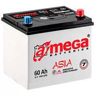 Аккумулятор автомобильный A-mega Premium (Азия) 6СТ-60-А3E