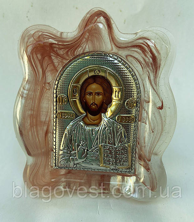 Икона в муранском стекле