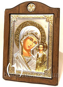 "Казанська ікона ""Sinay Silver"" (170х210мм) Ш"