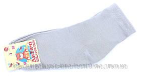 Шкарпетки дитячі ТОП-ТАП 20-22р 32-34 світло-сірий (Д-102)