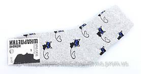 Носки женские ТОП-ТАП Котики классические светло-серый 23-25р 37-40 (Ж-112)