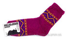 Шкарпетки жіночі ТОП-ТАП Орнамент класичні малиновий 23-25р 37-40 (Ж-112)