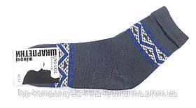 Шкарпетки жіночі ТОП-ТАП Орнамент класичні сірий 23-25р 37-40 (Ж-112)