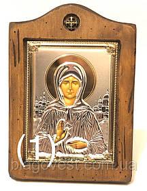 "Икона св. Матрона ""Sinay Silver"" (130х170мм) Ш"