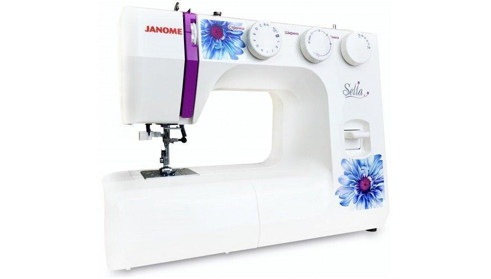 Швейна машина Janome Sella (J-SELLA)