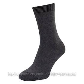 Носки мужские ТОП-ТАП классические стрейч темно-серый 27р 41-42 (М-103)