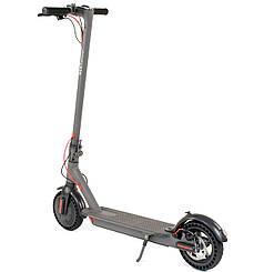 Электросамокат Best Scooter с дисковыми тормозами и подножкой (серый)
