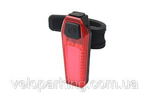 Ліхтар задній габаритний (плоский) BC-TL5476 LED, USB, (червоний)