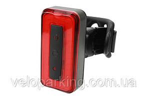 Ліхтар задній габаритний (ободок) BC-TL5474 LED, USB, (червоний)