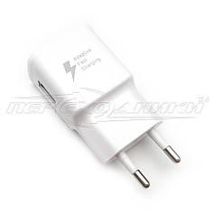 Сетевое зарядное устройство USB Quick Charge 2.0 (5V, 9V) (черный), 2 А ( 5 V )