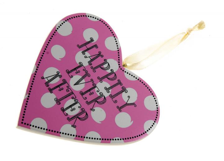 Декоративне полвесное серце Hallmark