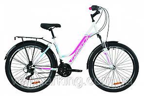 """Велосипед 26"""" Formula OMEGA 2020 (біло-рожевий з блакитним)"""