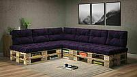 Подушки Comfort , подушки для садових меблів , меблі loft , диван з піддонів в стилі лофт, фото 2