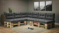 Подушки Comfort , подушки для садових меблів , меблі loft , диван з піддонів в стилі лофт, фото 3
