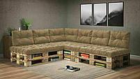 Подушки Comfort , подушки для садових меблів , меблі loft , диван з піддонів в стилі лофт, фото 6