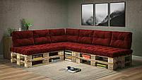 Подушки Comfort , подушки для садових меблів , меблі loft , диван з піддонів в стилі лофт, фото 7