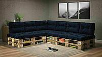 Подушки Comfort , подушки для садових меблів , меблі loft , диван з піддонів в стилі лофт, фото 8