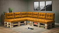 Подушки Comfort , подушки для садових меблів , меблі loft , диван з піддонів в стилі лофт, фото 9