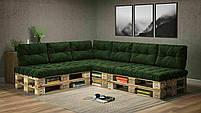 Подушки Comfort , подушки для садових меблів , меблі loft , диван з піддонів в стилі лофт, фото 10