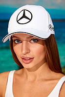 Кепка «Mercedes»  унисекс,белый