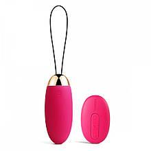 Вибратор-яйцо на пульте управления Svakom (Сваком) Elva цвет розовый - Бесплатная доставка!