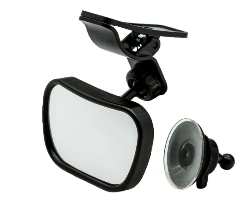 Зеркало для обзора детского кресла с клипсой и присоской 90x60 мм  Elegant EL 130 504