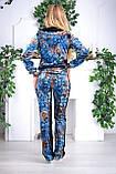 Велюровый женский турецкий спортивный костюм EZE купить разм 46,48,50, фото 3