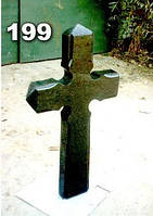 Кресты надгробные из гранита, гранитный крест на могилу образец № 199