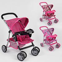 Детская коляска для куклы 9304 BWT
