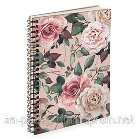 Блокнот Sketchbook (прямоуг.) Троянди