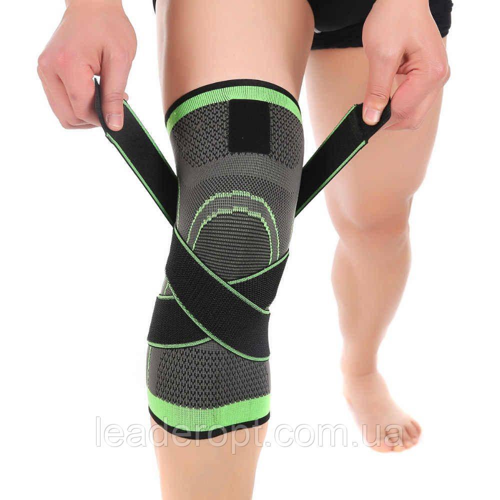 ОПТ Спортивный наколенник-фиксатор для защиты коленного сустава от травм и растяжений  Atlanterra