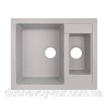 Кухонная мойка Lidz 615x500/200 GRA-09 (LIDZGRA09615500200)