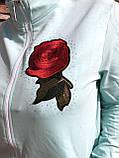 Жіночий літній спортивний костюм (Туреччина); розм 48,50,52,54; 2 кольори, фото 4