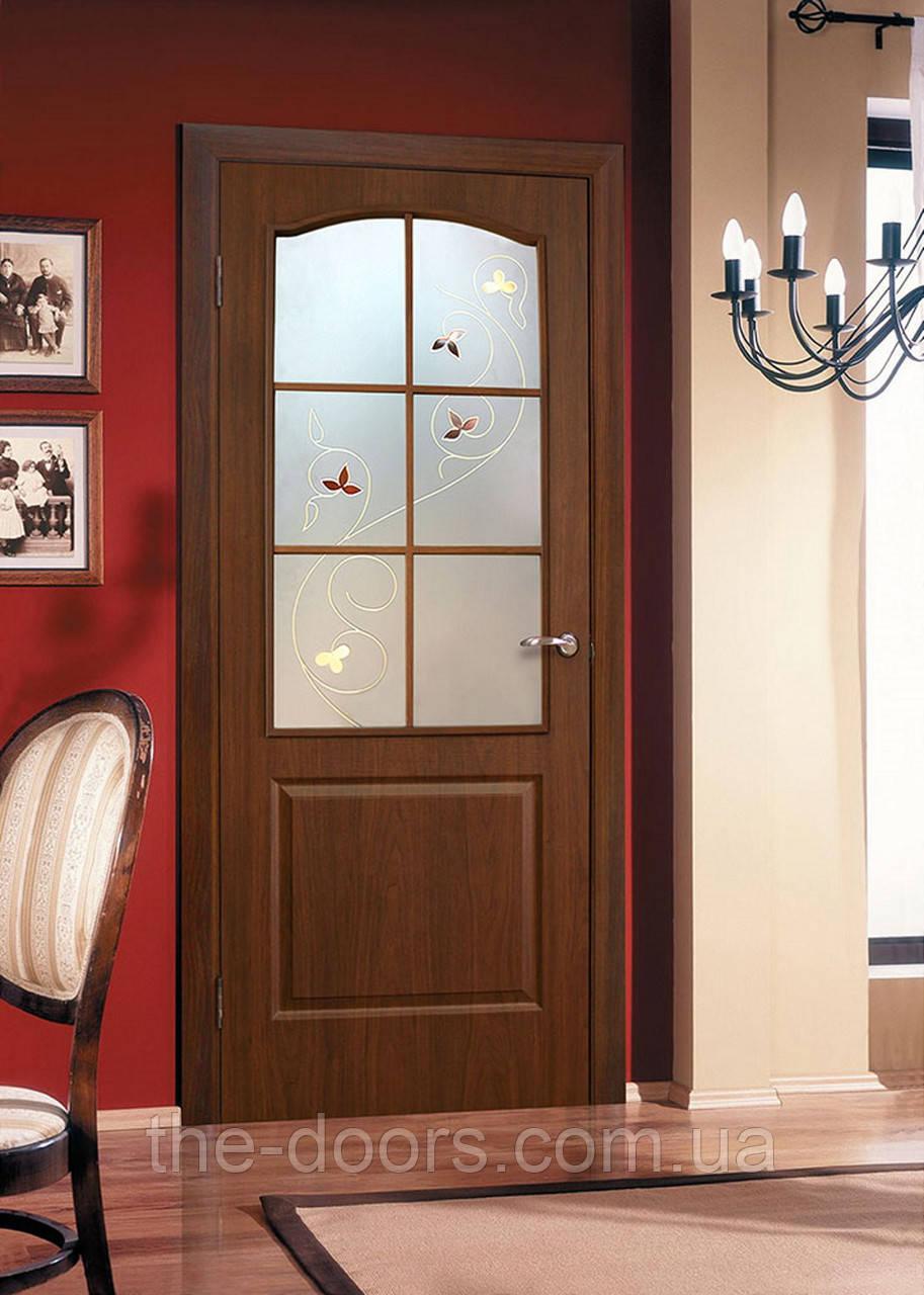Двери межкомнатные Классика стекло СС+КР