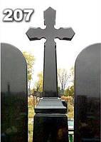 Ритуальные кресты из гранита, надгробный крест на могилу образец № 207