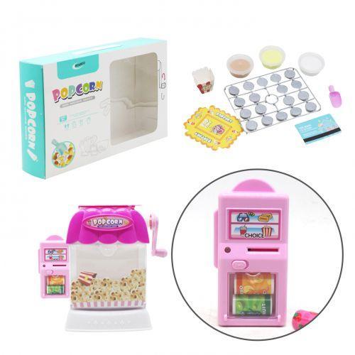 """Детский игровой набор """"Попкорн"""", розовый 1106B"""