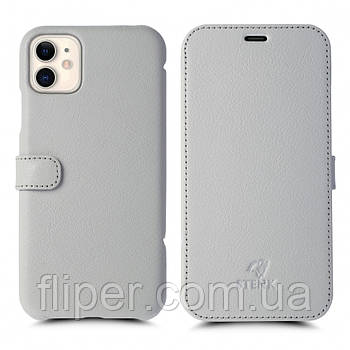 Чехол книжка Stenk Premium для Apple iPhone 11 Белый