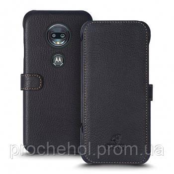 Чехол книжка Stenk Premium для Motorola Moto G7 Чёрный