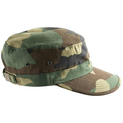 Кепка Helikon Combat - US Woodland (Cotton Ripstop)