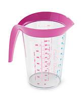 Мірний стакан-1 л, рожевий